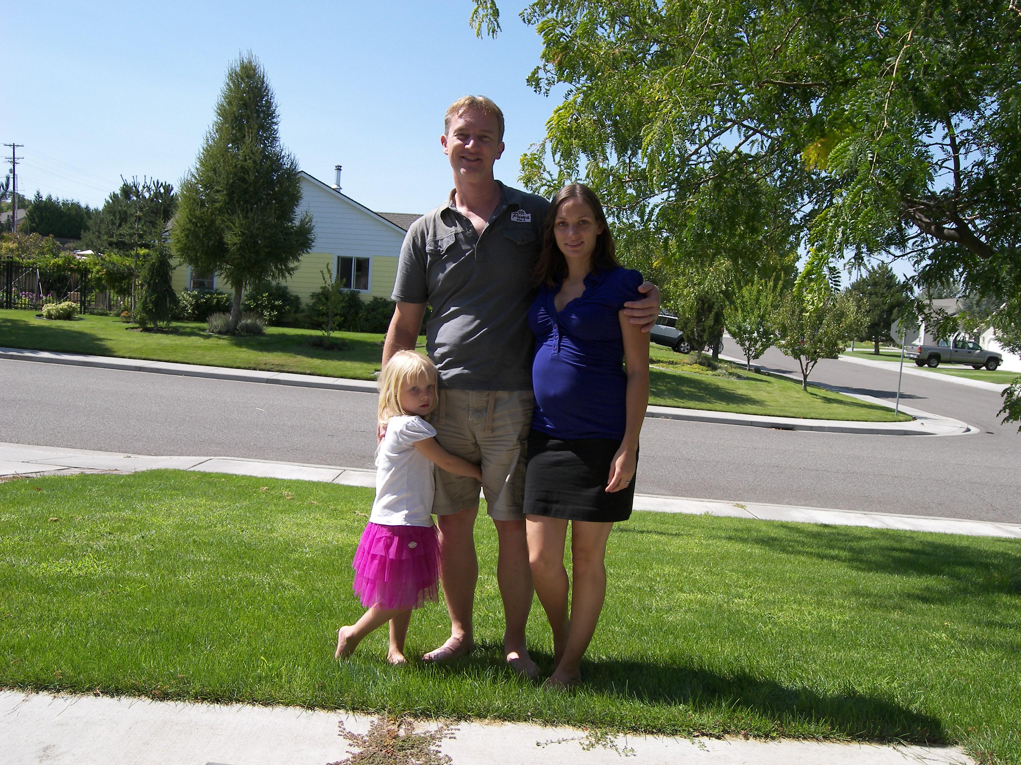 Janney s rodinkou