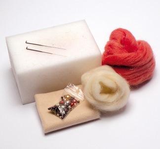 Plstěné šperky