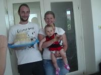 Adriana s rodinou