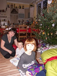 Lucie s dětmi