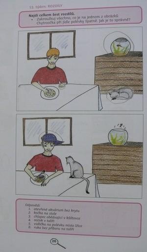 Rozdíly - příprava na zápis do první třídy
