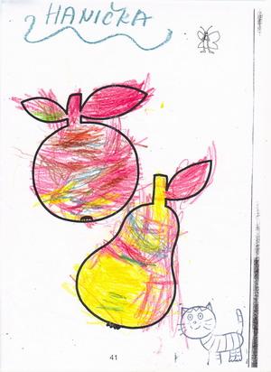 Hruška a jablíčko