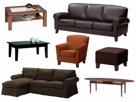 Sedací a drobný nábytek