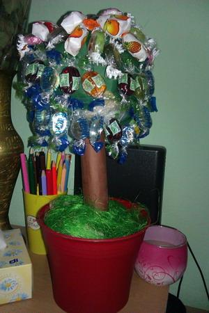 Bonbónový stromeček