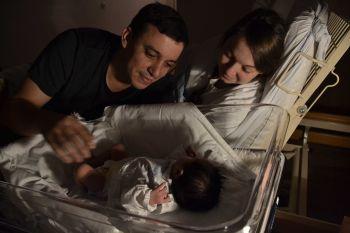 Apolenka s maminkou a tatínkem