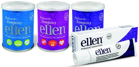 Probiotické tampón a krém Ellen