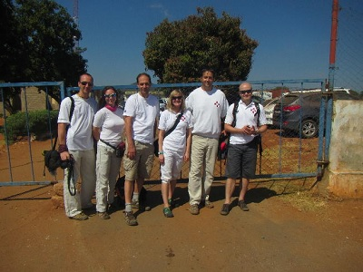 Tým mise Malawi 2013