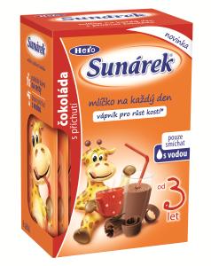 Sunárek pitíčko čokoládové