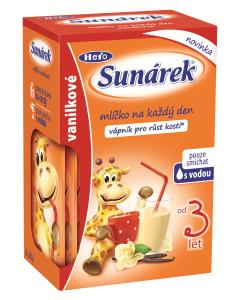Sunárek pitíčko vanilkové