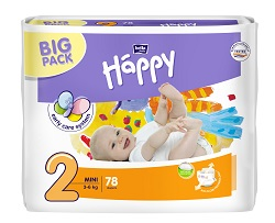 HAPPY MINI Big Pack á 78 ks