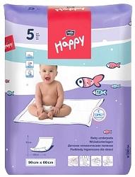 HAPPY Dětské podložky 60x90 cm á 5 ks
