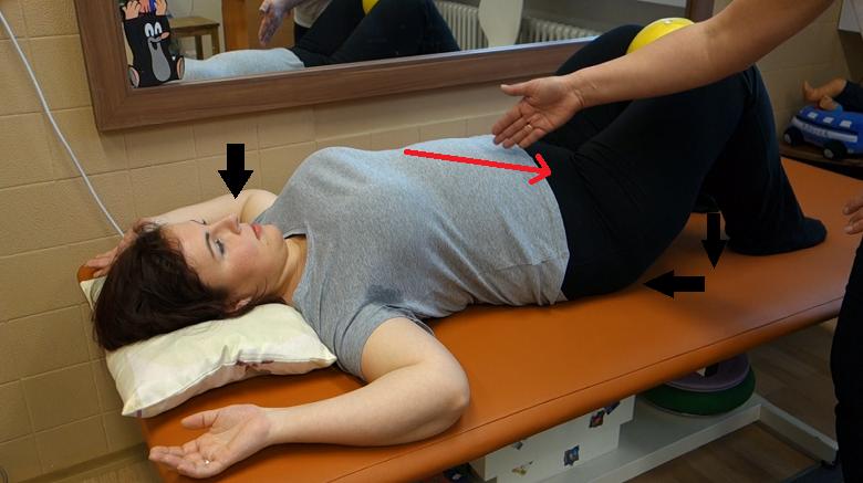 cvik na posílení šikmého břišního svalstva