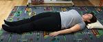 Správné vstávání ze země v těhotenství