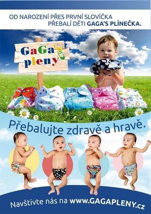 Látkové pleny - GaGa's pleny®