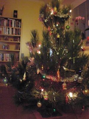 svítící stromek