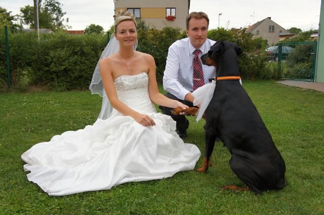 Na svatbě