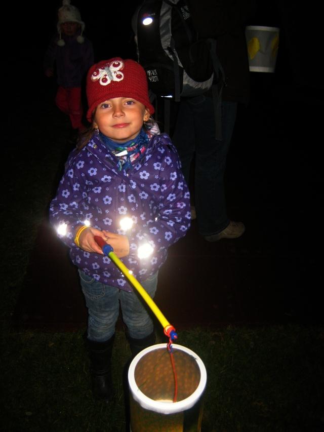 Brouček s lampionem :-)