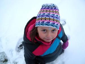 Markétka ve sněhu