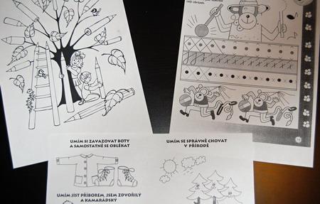 Materiály ze školky