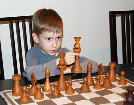Předškolák Rosťa - šachy