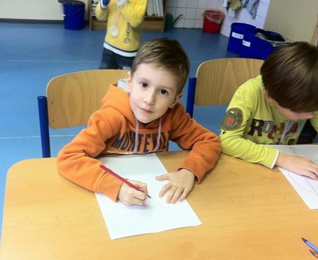 Předškolák Rosťa - zápis