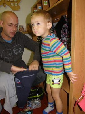 První týden ve školce - Tobík