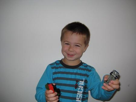 První týden ve školce - Tomášek