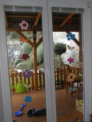 Kytičky na okno
