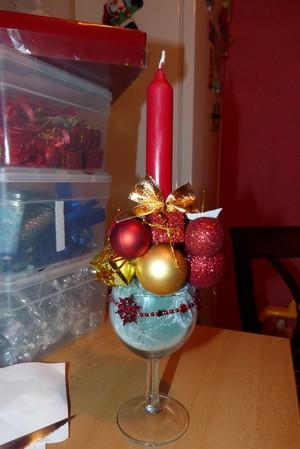 Návod na vánoční svícen