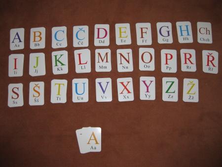 Písmenkové kartičky pro chytré hlavičky