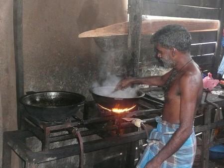 Kuchař v Asii