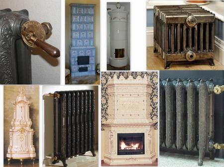 Kamna a radiátory - antik