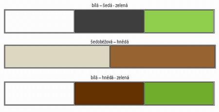 Moderní styl bydlení - barvy