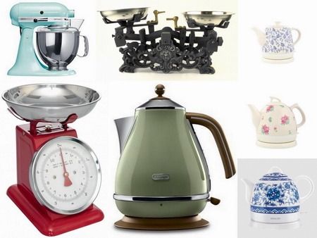 Malé kuchyňské spotřebiče a potřeby