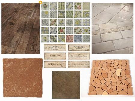 Podlahy, dlažby, obklady