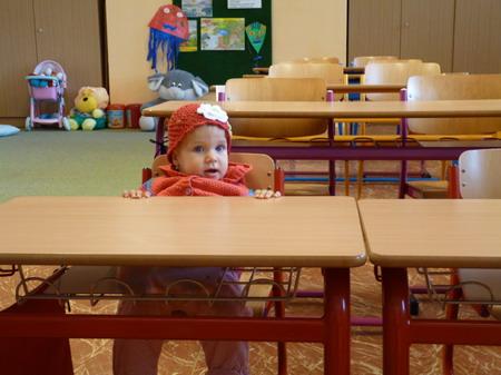 Julinka v lavici