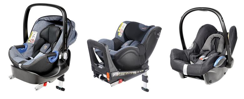 Baby-Safe2 i-Size, Swingfix i-Size, Maxi-Cosi Cabriofix