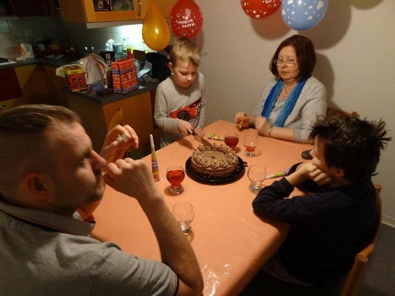 Oslava Toníčkových narozenin