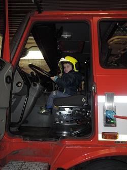 Návštěva hasičské stanice