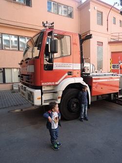 Den otevřených dveří v hasičském sboru