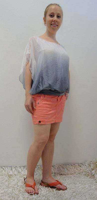 Těhotenské oblečení - těhotenská halenka, sukně