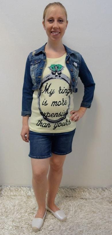 Těhotenské oblečení - těhotenský model na běžné nošení