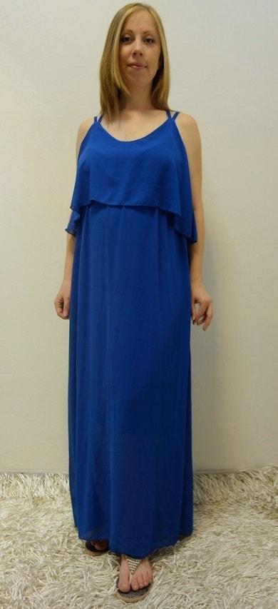 Těhotenské oblečení - těhotenské letní šaty dlouhé