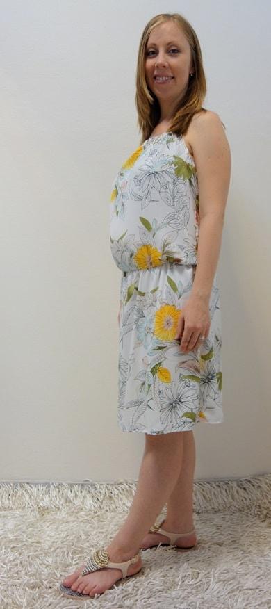 Těhotenské oblečení - těhotenské letní šaty