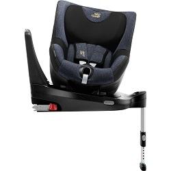 Autosedačku DUALFIX_M_i-SIZE si pohodlně otočíte ke dveřím auta. Snadno tak zkontrolujete, zda je dítě správně připoutané.