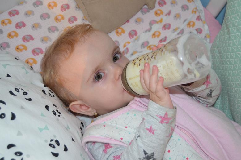 Testování mléka Nutrilon 3