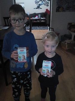 Dagmar s Tobiasem a Theou testují sirup BABY IMUN