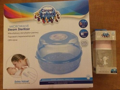 Sterilizátor do mikrovlnné trouby od Canpol babies