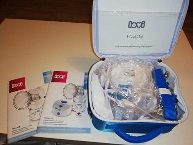 Elektronická odsávačka LOVI Prolactis