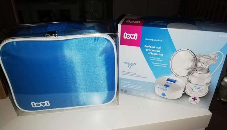 Testování dvoufázové elektrické odsávačky LOVI Prolactis